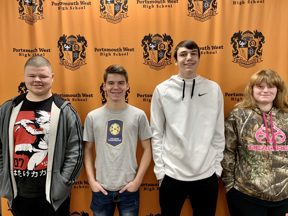 2019 November Students of the Month