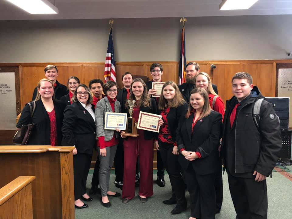 PWHS Mock Trial Team Wins Regional Competition