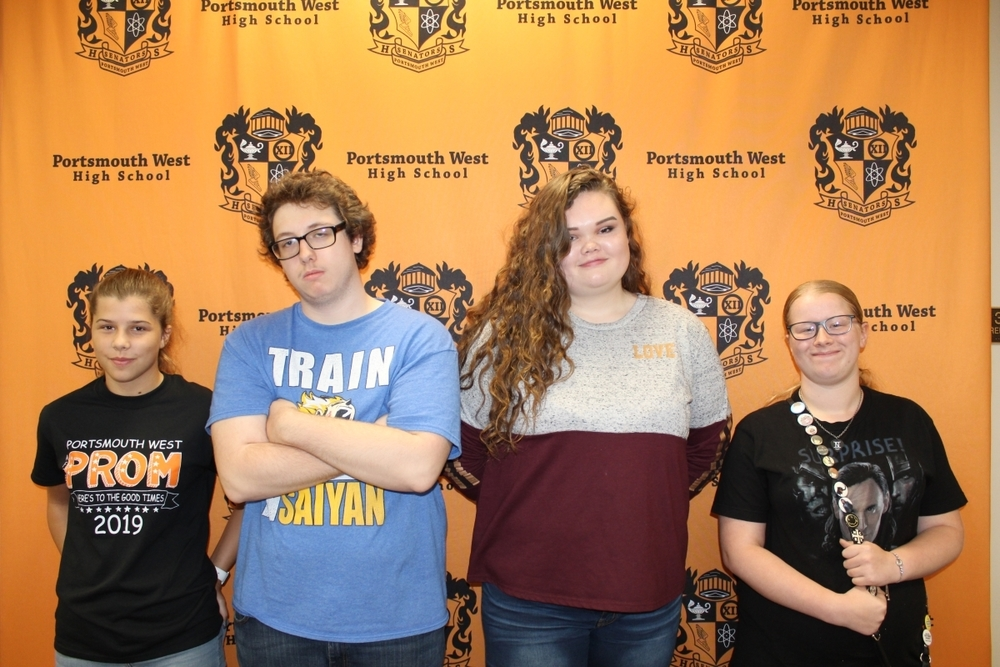 2019 April Students of the Month