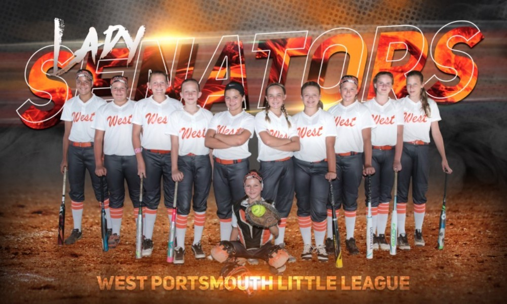 9-11 West Girls Little League - State Champs