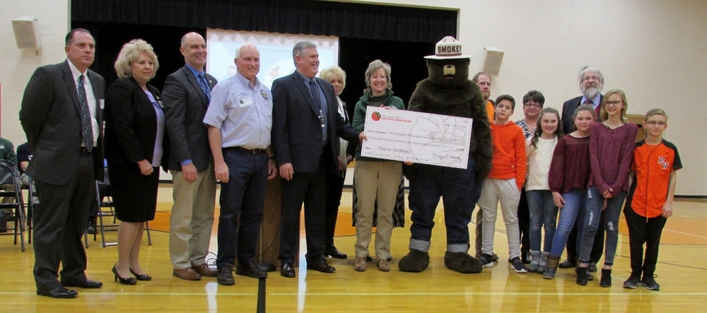 ODNR 'Trees to Textbooks' Presents Check