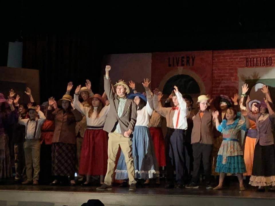 "Middle School Performs ""The Music Man"""