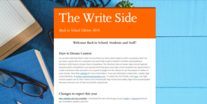 The Write Side Back to School Edition 2019