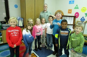 Mr. Carver Visits Mrs. Banks' Class