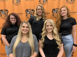 PWHS 2019 Football Homecoming Court