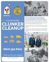 Portsmouth West- SCCTC FFA Partners with Ronald McDonald House Charities to Clean Up Communities and Support Families