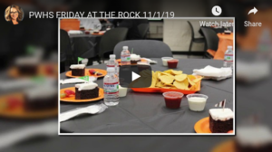 Friday at The Rock - November 2019