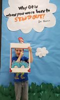 Ms. Degonzague's Class Kicks off Dr. Seuss Week