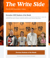 The Write Side November 2019 Edition