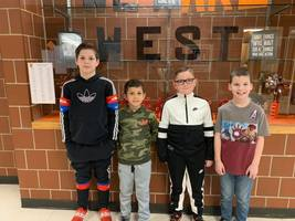 PWE January Students of the Month