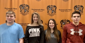 PWHS January 2020 Students of the Month