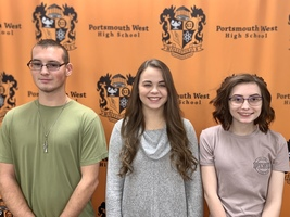 PWHS December 2019 Students of the Month