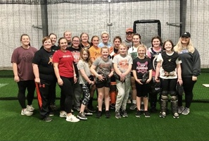 PORTSMOUTH WEST SOFTBALL PROGRAM HOSTS PITCHING/CATCHING CLINICS