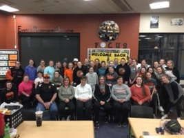 HS and MS Softball Holds Leadership Meeting