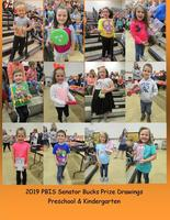 2019 PBIS Senator Bucks Prize Drawings-Preschool & Kindergarten