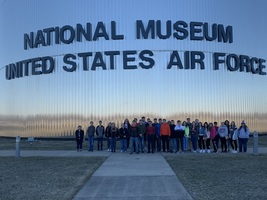 PWHS Students Earn Trip to Air Force Museum