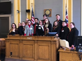 PWHS Mock Trial Team Wins District Competition
