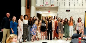 PWHS Girls' Basketball Team Receives Sportsmanship Award
