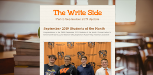 The Write Side September 2019 Edition
