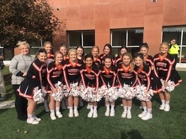 PWHS Cheer Performs with BG State
