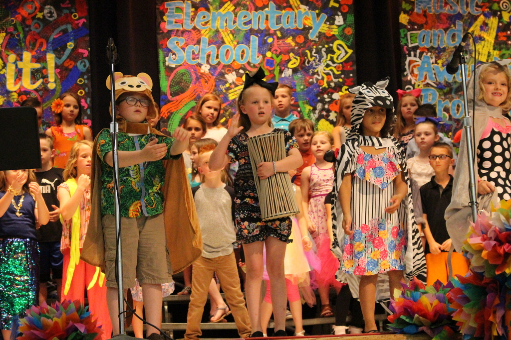 1st & 2nd Grade Spring Program
