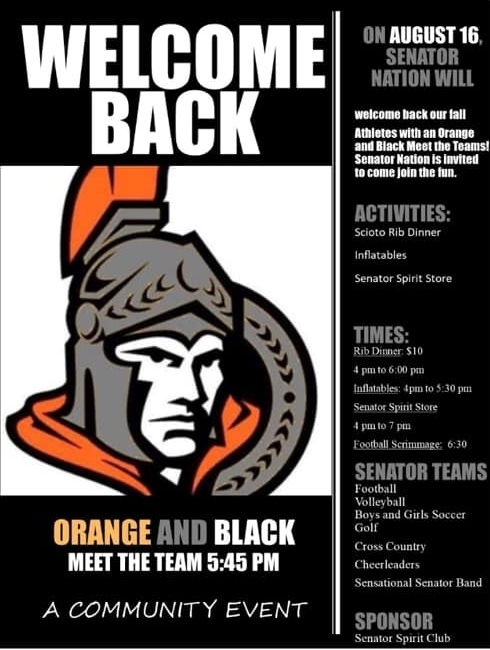 Orange & Black-Meet The Team
