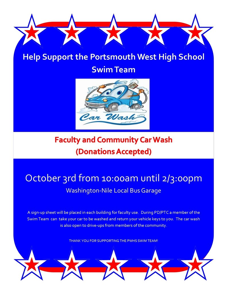 swim team car wash
