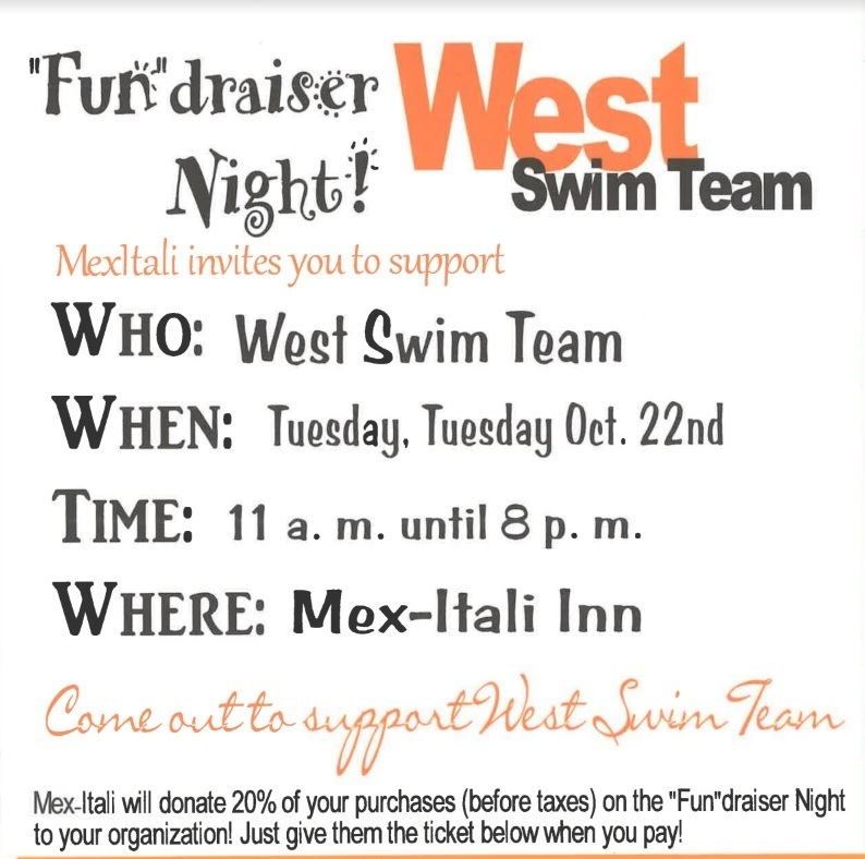 PW Swim Team Fundraiser