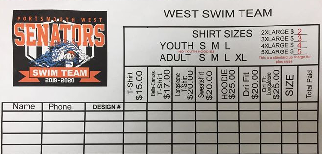 2020swim t shirt form