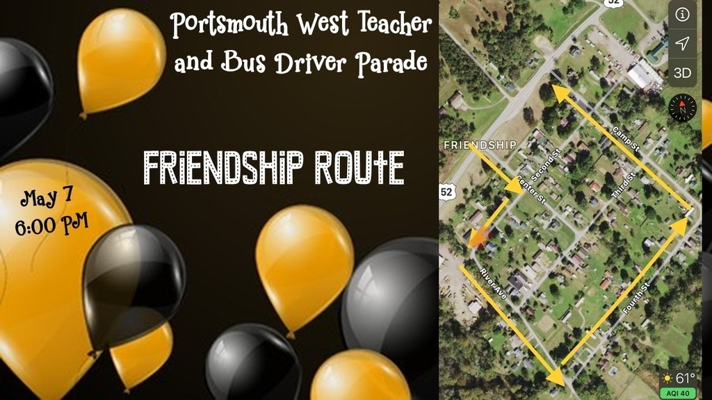 Friendship Parade Route