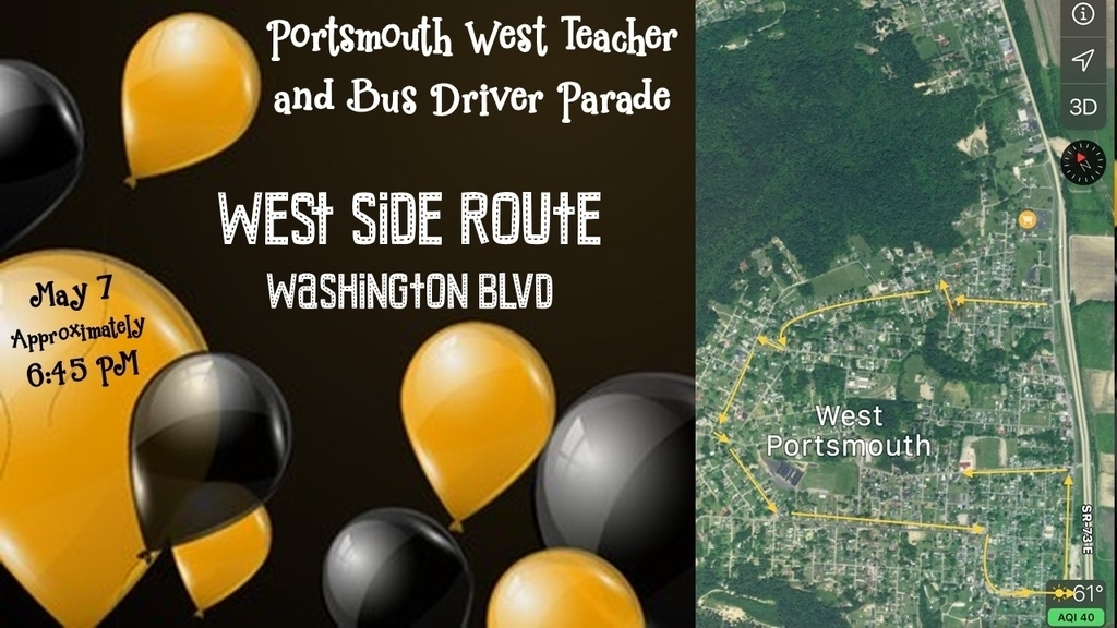 West Side Parade Route